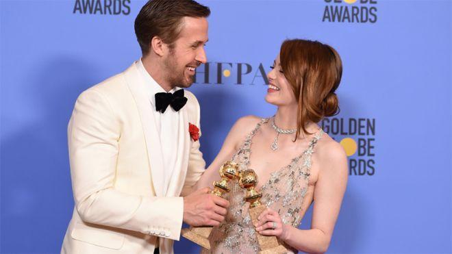 La La Land sweeps Golden Globe Awards