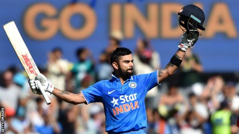 India v England: Kohli named limited-overs captain
