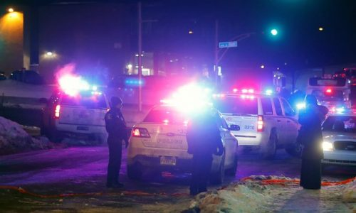Québec mosque shooting: six dead as Justin Trudeau condemns 'terrorist attack'