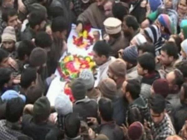 A funeral in J&K: This time for a cop and not a terrorist