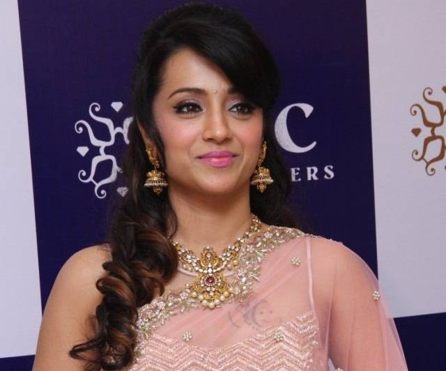 Trisha faces heat! Protests staged against her