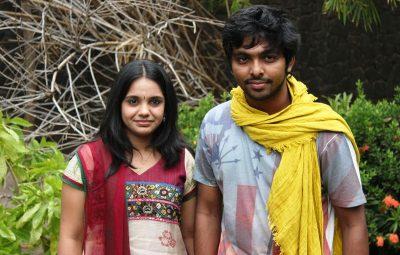 GV Prakash and Saindhavi Press Meet... glintcinemas.com