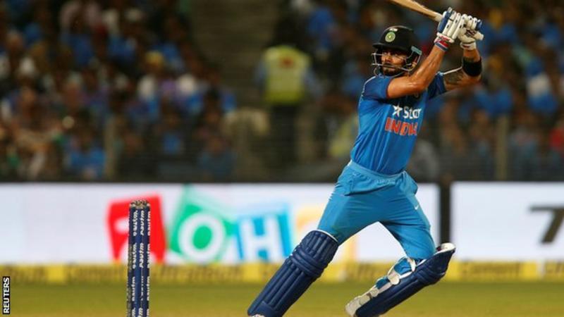 India v England: Virat Kohli and Kedar Jadhav lead stunning chase