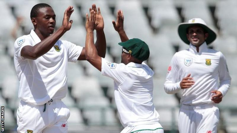 South Africa v Sri Lanka: Kagiso Rabada stars as hosts seal series
