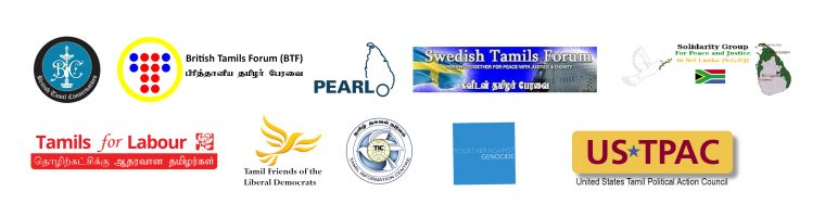 Tamil Diaspora Organisations call upon the international Community to get involved in the new constitutional process of Sri Lanka