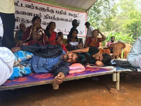 """Let us support and gather strength for the hunger strike aimed at tearing the """"good governance"""" veil of the Sri Lanka Government: ICET"""
