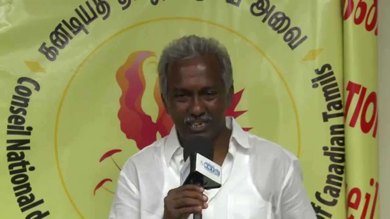 Genocide was perpetrated in Eelam because of the cowardice of the Thamizhaka Tamils, say Director Pukalenthy Thangaraj