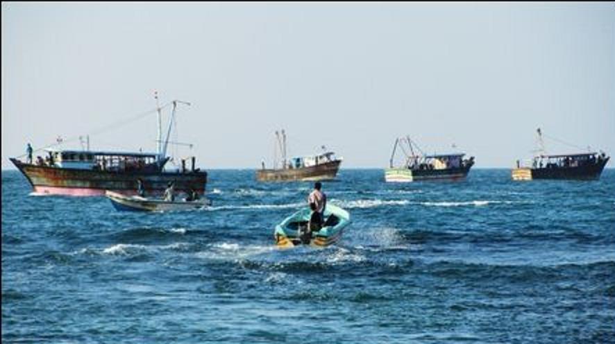 Transgression of Indian Fishermen & 4 Million worth of nets of Vadamaradchchi Fishermen destroyed