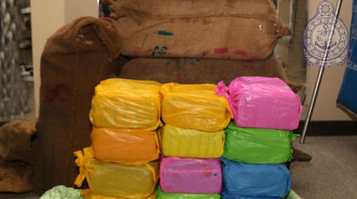 Four persons arrested in Point Pedro sea with 150 Kgs. of Ganja