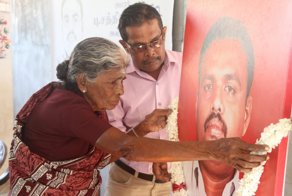 Journalist Sathiyamoorthy, killed on duty during the last days of war, remembered in Jaffna(with Video)