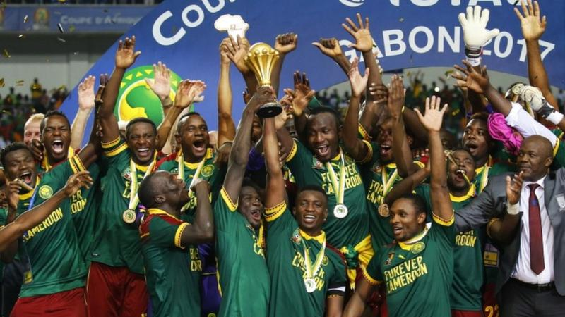 Cameroon came from behind to beat Egypt 2-1 and seal a fifth Africa Cup of Nations in a thrilling, edgy final
