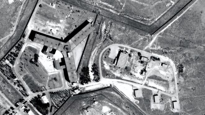 Syria conflict: Thousands hanged at Saydnaya prison, Amnesty says