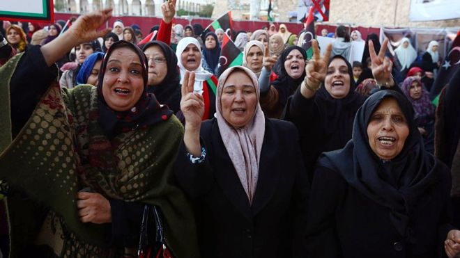Libya's eastern authority freezes women's travel ban
