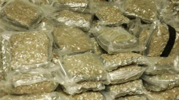 68 Kilos Ganja Packages captured