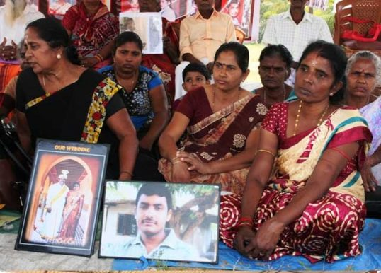 Relatives of Missing persons also start their continuous struggle for information on their kins
