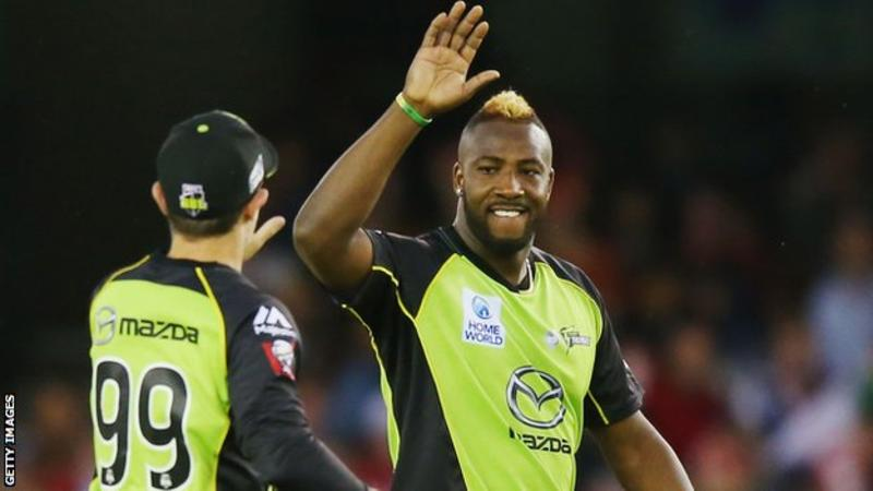 Andre Russell: West Indies all-rounder given one-year anti-doping whereabouts ban