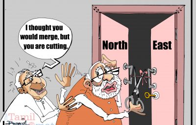 sampanthan , Modi cartoon (2)