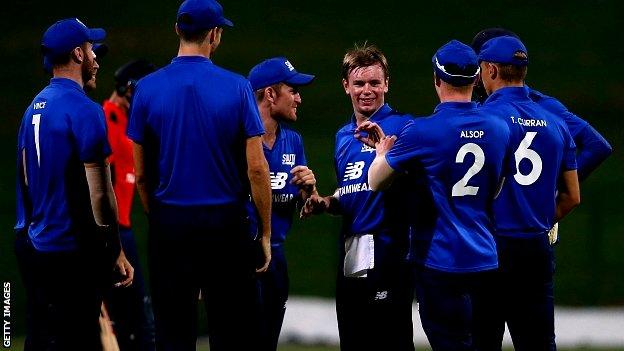 North-South Series: Mason Crane helps South to victory in Abu Dhabi