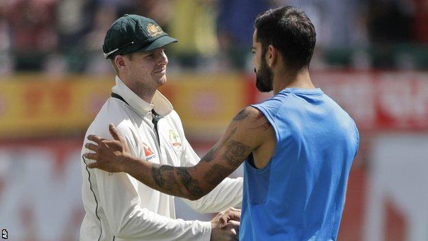 Virat Kohli: India captain says friendships with Australia players are over