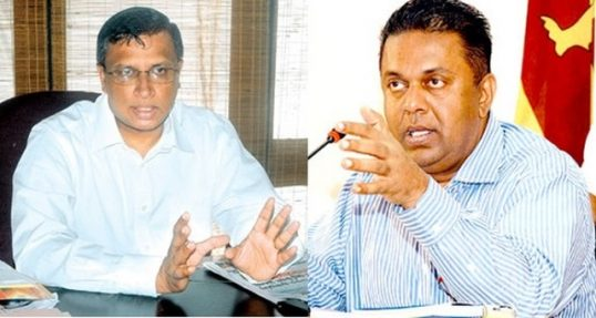 No room for Hybrid Court in Lawa,says Managala and Sumanthiran : it is there