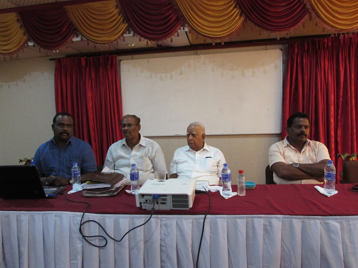 Tamil Diplomat TNA leadership in an attempt to obtain