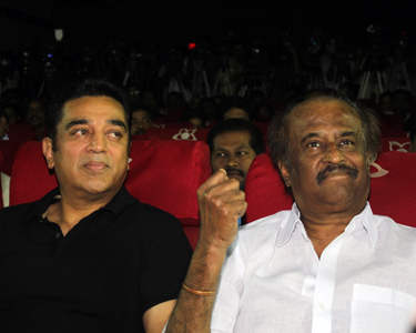 Rajini and Kamal come together for a grand event