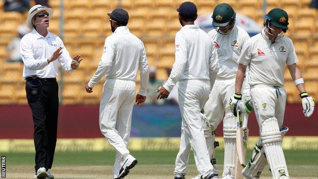 India v Australia: BCCI to withdraw complaint after tensions in Bangalore
