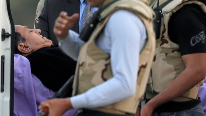 Egypt's Hosni Mubarak acquitted over 2011 protester deaths