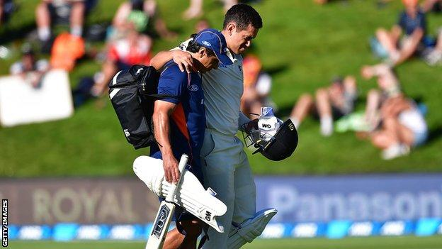 New Zealand v South Africa: First Test drawn after final-day washout