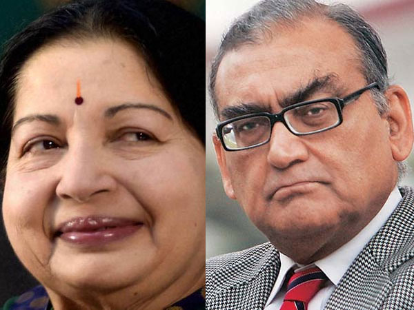Justice Katju reveals he had a crush on Jayalalithaa