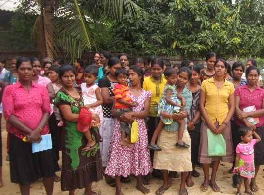 1,863 Woman leadership families in Puthukudiyiruppu DS Division