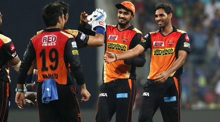 IPL 2017: Bhuvneshwar Kumar blames small score, dew for defeat against Mumbai Indians