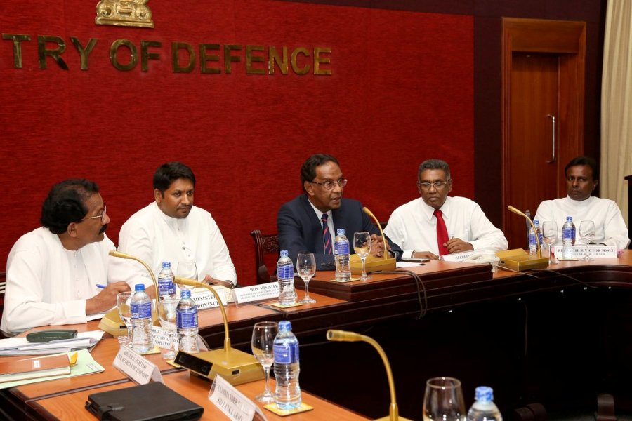 Meeting with Security Forces Officers not positive: Conditions from the Army
