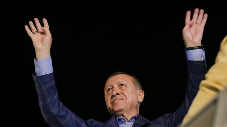 President Erdogan announces victory, opponents plan challenge