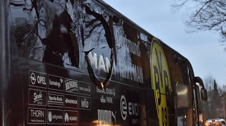 Police hunt suspect of Dortmund bus blast
