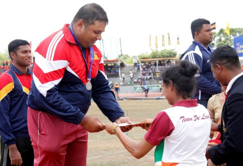 Jaffna sweeps the Board in Hammer throw in Youth Sports Festival