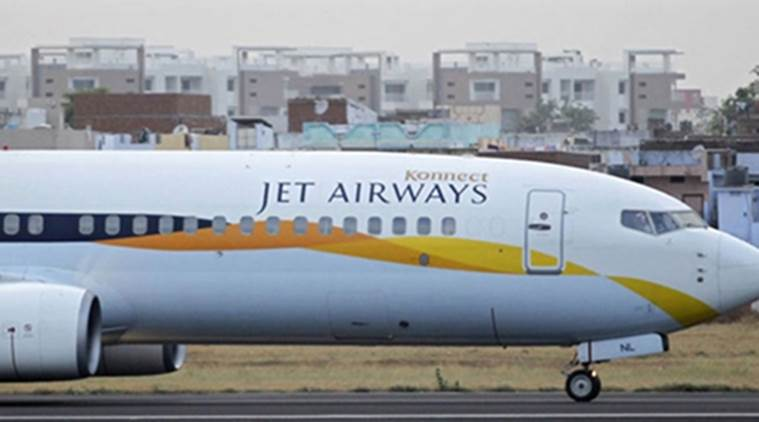Bird hits Jet Airways flight, passengers stranded