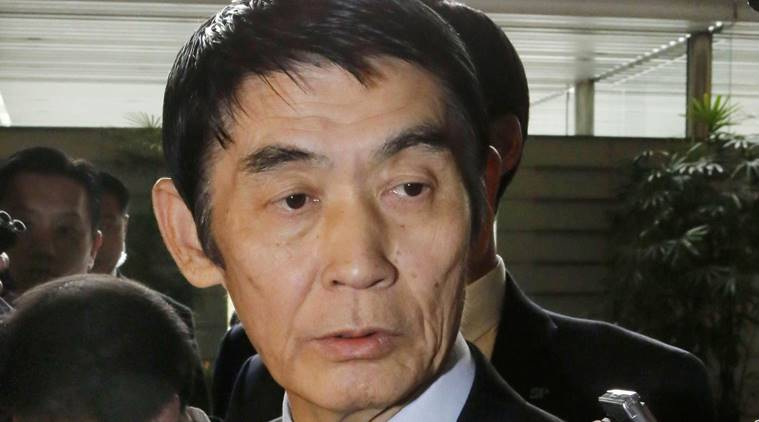 Japan reconstruction minister quits after inappropriate comment on disaster zone