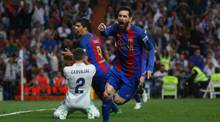 Real Madrid vs Barcelona Highlights: Lionel Messi winner in dying seconds keeps title alive