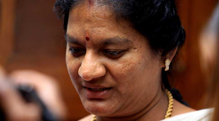 Sasikala Pushpa holds Tamil Nadu CM accountable for agrarian crisis