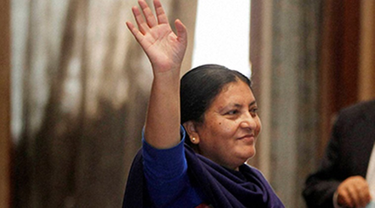 Nepal President Bidya Devi Bhandari to arrive in Delhi on five-day visit