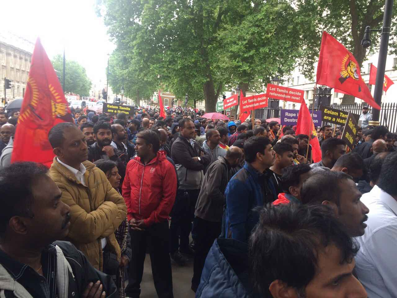 British Tamils mark 8th Anniversary of Mullivaikkal Genocide