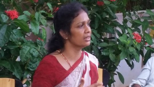 Tamils will receive their solution only if the God show some mercy: Wijeyakala, State Minister for Women Affairs