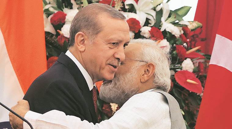 India draws red line on Kashmir to Erdogan: Bilateral, about terror