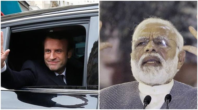 PM Narendra Modi congratulates French President-elect Emmanuel Macron on winning polls