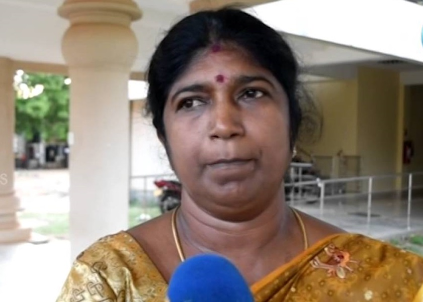 This Government considering Tamils as a Third party , accuses Shanthi, MP