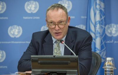 Ben Emmerson, United Nations'