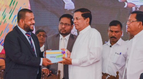 Jaffna District Cooperative  Board clinches the Gold for the best Cooperative in the Island