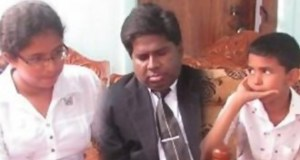 Justice Ilancheliyan adopts the two children of the slain Inspector