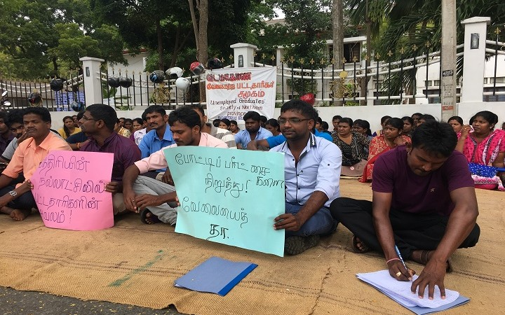 Un-employed graduates suspend their struggle, vowing to resume if their demands are not met